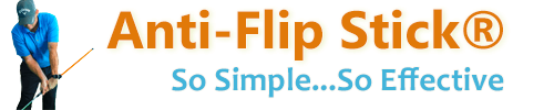 Anti-Flip Stick Training Aid Logo